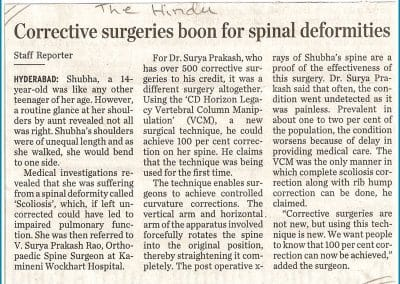 Read here more about Corrective surgery boon for special deformity