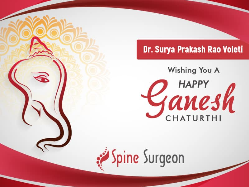 Dr. Surya Prakash Voleti Wishing You A Warm & Blissful Ganesh Chathurthi!!!