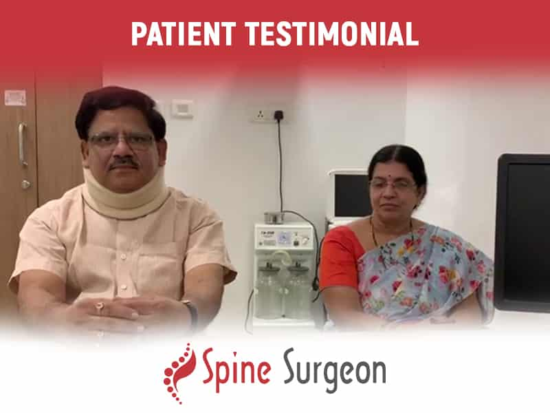 A successful Cervical Spine Surgery By Dr. Surya Prakash Voleti