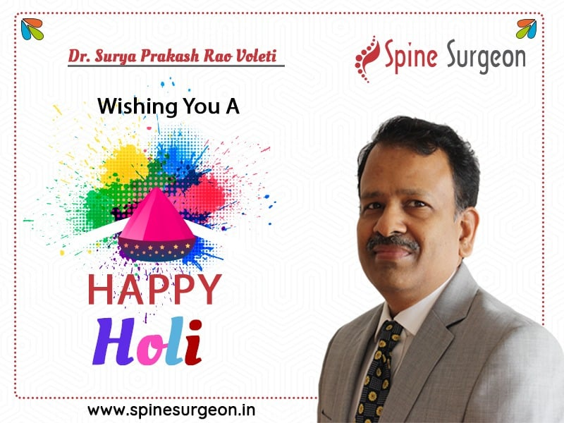 Let's Celebrate The Spirit Of Colors With Happiness – Dr. Surya Prakash Rao Voleti