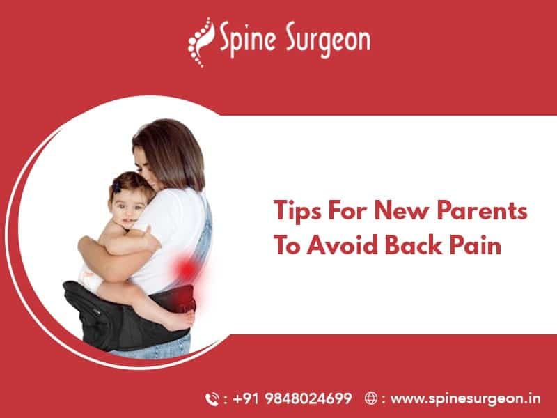 Tips for new parents to avoid back pain