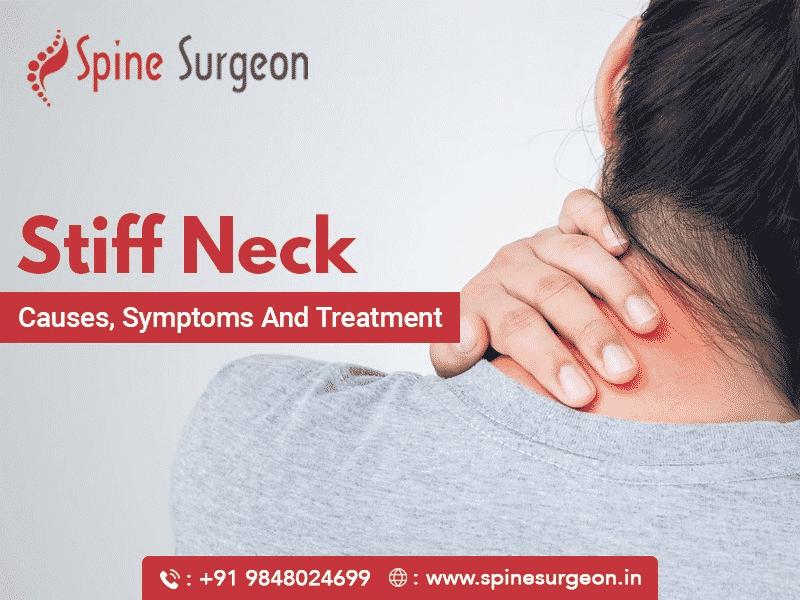 Stiff Neck – Causes, Symptoms & Treatment